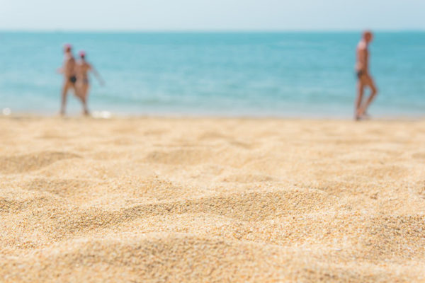 Bračni par na plaži
